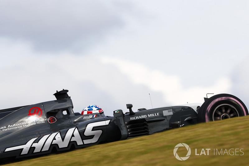 12. Romain Grosjean, Haas F1 Team VF-17