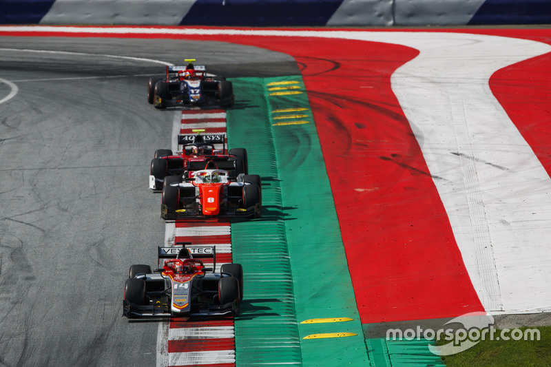 Luca Ghiotto, Campos Racing, George Russell, ART Grand Prix