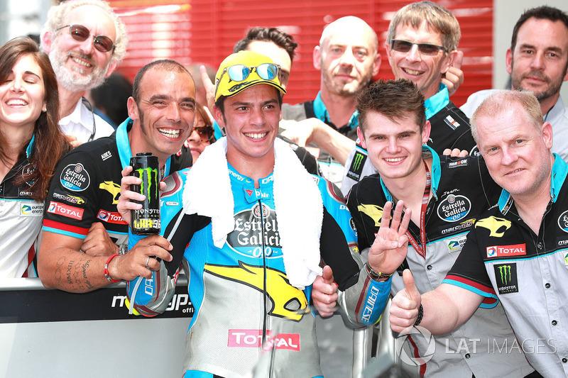 Il terzo classificato Joan Mir, Marc VDS Moto2