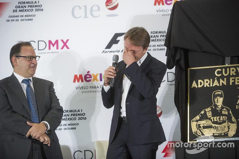 Federico González Compeán, Director General de CIE, Adrian Fernández
