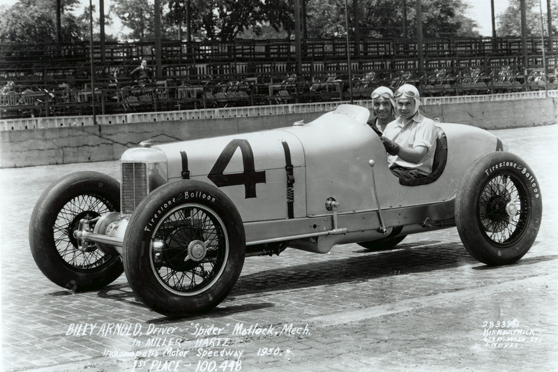 Race winner Billy Arnold