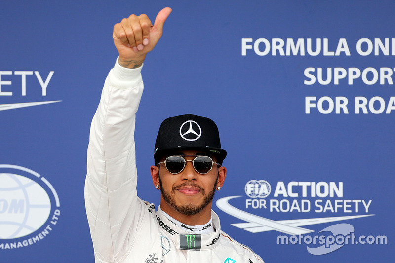 Pole-Position für Lewis Hamilton, Mercedes AMG F1 Team