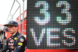 Max Verstappen, Red Bull Racing op de grid
