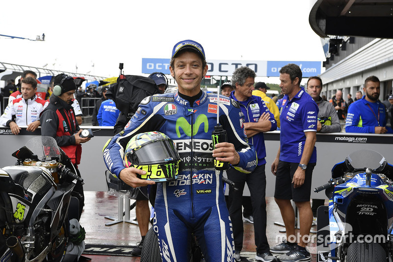 Second position Valentino Rossi, Yamaha Factory Racing