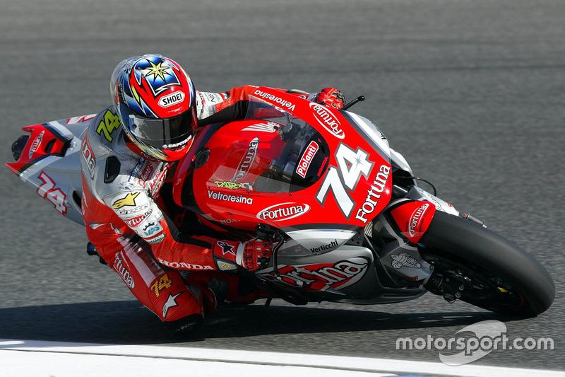 2002 - Arrivée en MotoGP