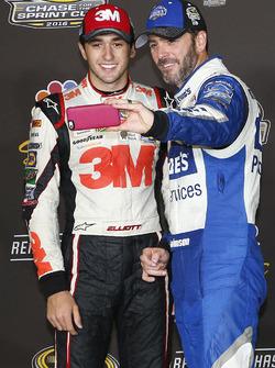 Hendrick Motorsports Chase drivers: Chase Elliott, Jimmie Johnson