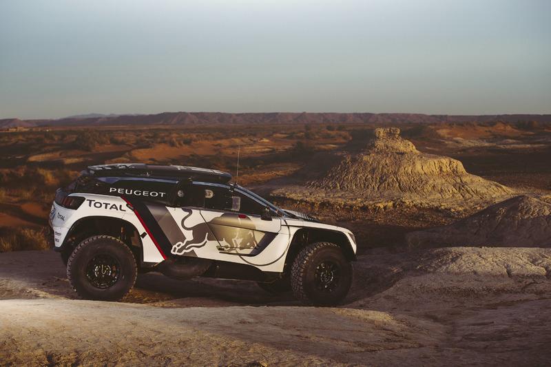 Peugeot-test in Marokko