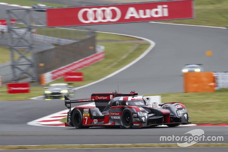 5. LMP1: #7 Audi R18: Marcel Fässler, Andre Lotterer, Benoit Treluyer