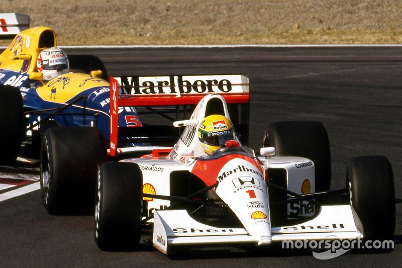 34º: McLaren MP4/6 (1991)