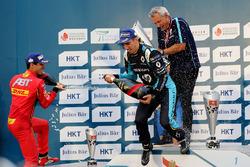 Podium: Sébastien Buemi, Renault e.Dams and Lucas di Grassi, ABT Schaeffler Audi Sport