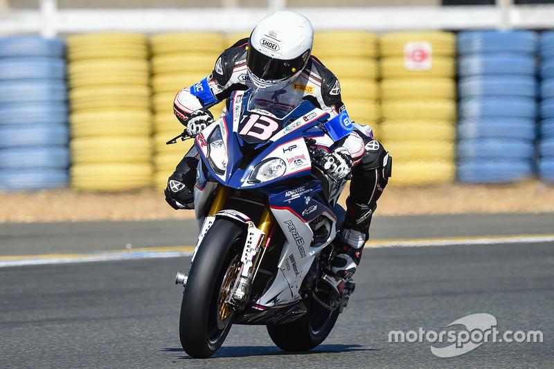 #13 Penz13.com - BMW Motorrad Team: Alessandro Polita, Lukas Pesek