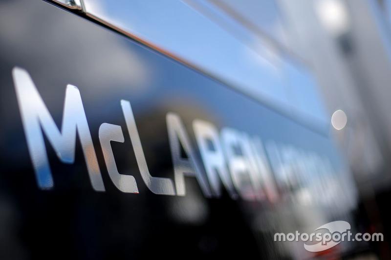Schriftzug: McLaren