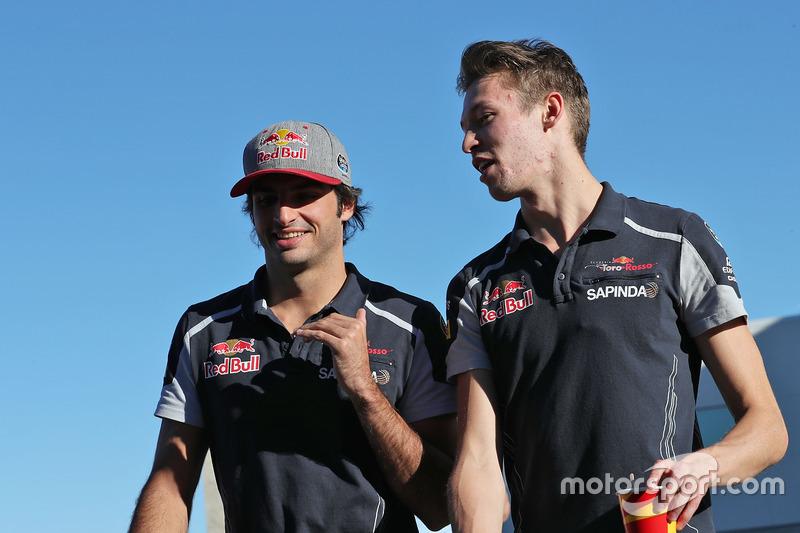 Carlos Sainz Jr., Scuderia Toro Rosso con Daniil Kvyat, Scuderia Toro Rosso