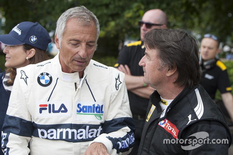 Ricardo Patrese and Rene Arnoux