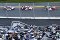 Austin Dillon, Richard Childress Racing Chevrolet; Ryan Reed, Roush Fenway Racing Ford; Jeremy Cleme