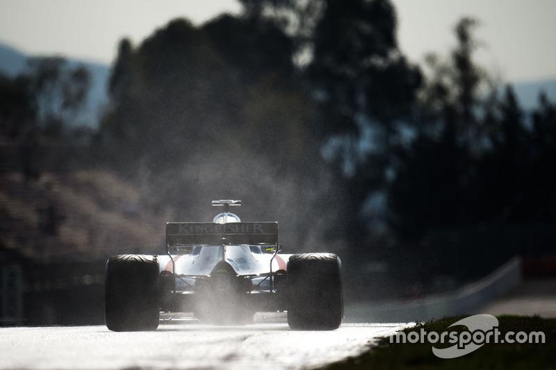 Sergio Pérez, Sahara Force India F1 VJM10
