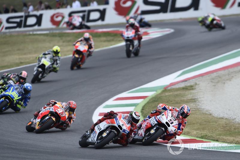 Даніло Петруччі, Pramac Racing, Хорхе Лоренсо, Ducati Team