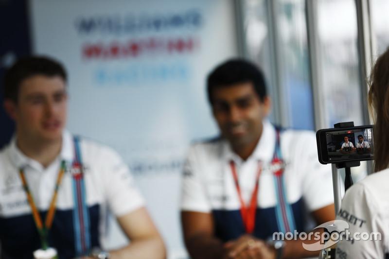 Paul di Resta und Karun Chandhok bei Williams