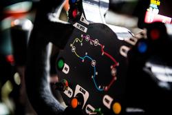 Steering wheel of James Courtney, Holden Racing Team