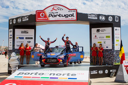 Second place Thierry Neuville, Nicolas Gilsoul, Hyundai Motorsport