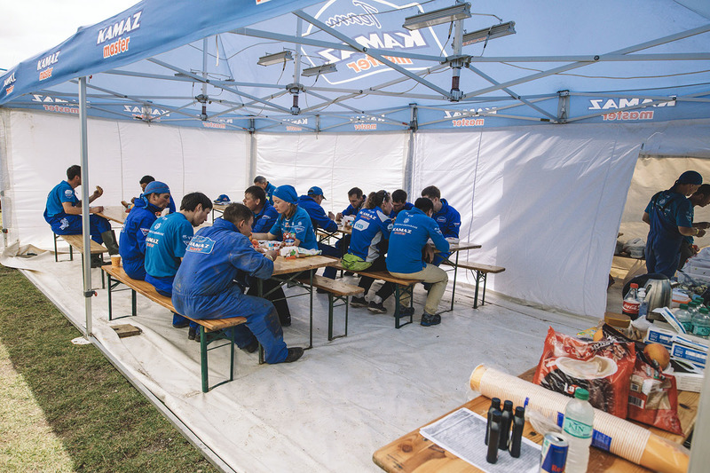 Team Kamaz Master area