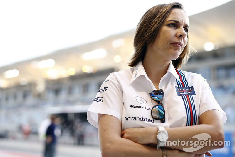19. Claire Williams