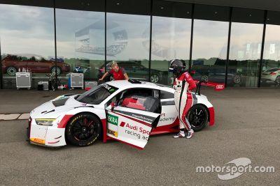 Audi R8 LMS teszt