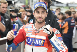 Andrea Dovizioso, Ducati Team after qualifying