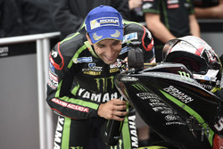 Johann Zarco, Monster Yamaha Tech 3 con un moto de juguete