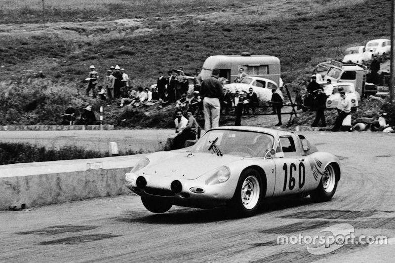 #160 Porsche 718 GTR: Jo Bonnier, Carlo-Maria Abate en 1963