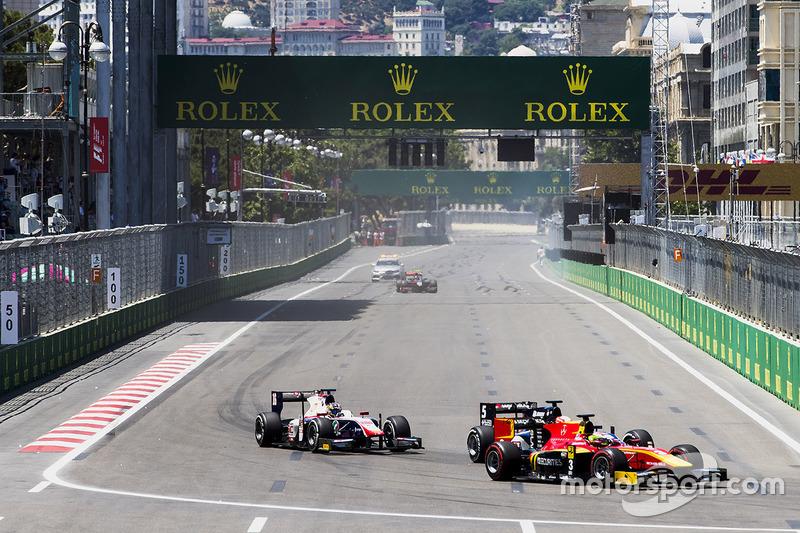 Louis Deletraz, Racing Engineering, Luca Ghiotto, RUSSIAN TIME, Nabil Jeffri, Trident