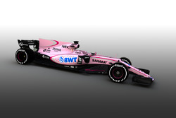 Sahara Force India  VJM10 con BWT