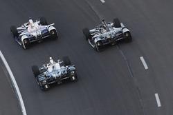 Helio Castroneves, Team Penske Chevrolet Max Chilton, Chip Ganassi Racing Honda Josef Newgarden, Team Penske Chevrolet