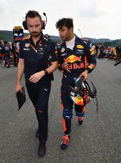 Даніель Ріккардо, Red Bull Racing, гоночни інженер Red Bull Racing Саймон Ренні