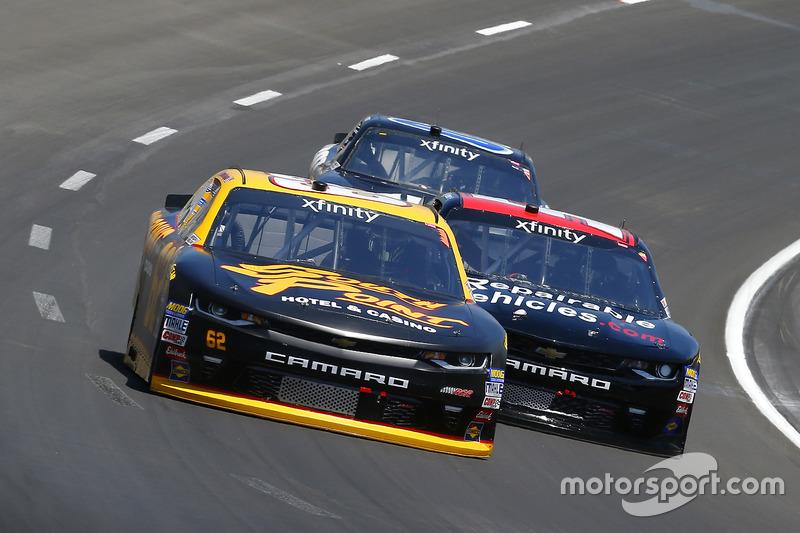 Brendan Gaughan, Richard Childress Racing, Chevrolet; Jeremy Clements, Jeremy Clements Racing, Chevrolet