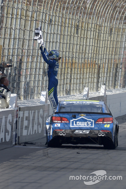 1. Jimmie Johnson, Hendrick Motorsports, Chevrolet