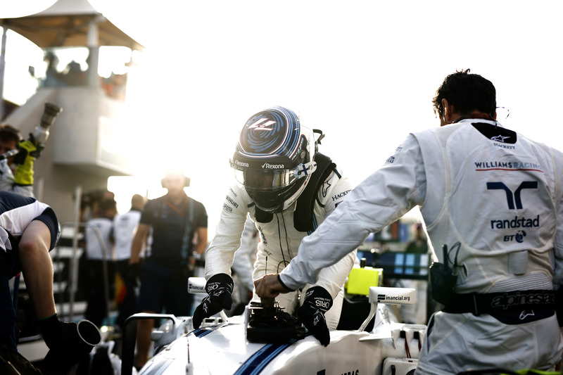 Valtteri Bottas, Williams,en la parrilla