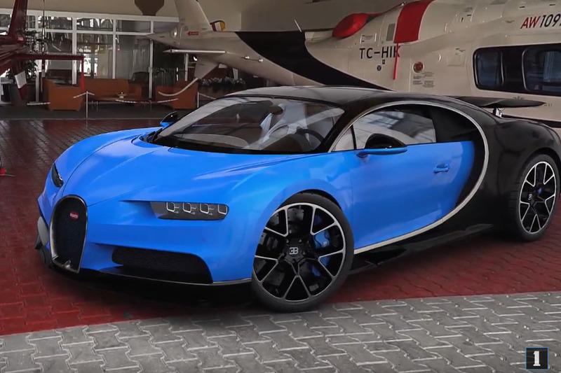 Bugatti Chiron İstanbul