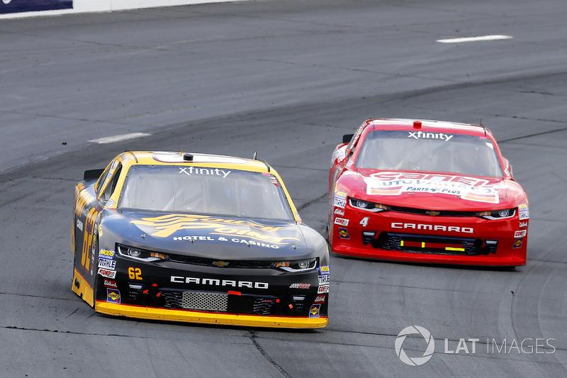 Brendan Gaughan, Richard Childress Racing Chevrolet, Ross Chastain, JD Motorsports Chevrolet