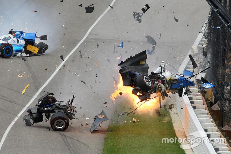 IndyCar Liveticker: Takuma Sato siegt bei Horrorcrash von Dixon