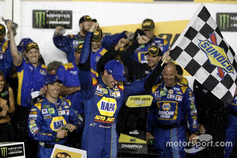 1. Duel 1, Chase Elliott, Hendrick Motorsports, Chevrolet