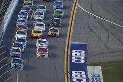 Brad Keselowski, Team Penske Ford Ryan Blaney, Wood Brothers Racing Ford Chase Elliott, Hendrick Motorsports Chevrolet