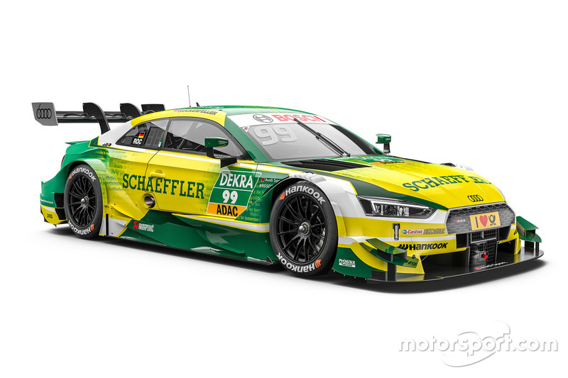#99: Mike Rockenfeller, Audi Sport Team Phoenix, Audi RS 5 DTM