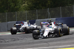 Felipe Massa, Williams FW40, Carlos Sainz Jr., Scuderia Toro Rosso STR12 and Lance Stroll, Williams FW40