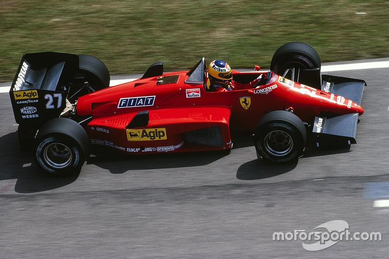 Мікеле Альборето, Ferrari 156/85