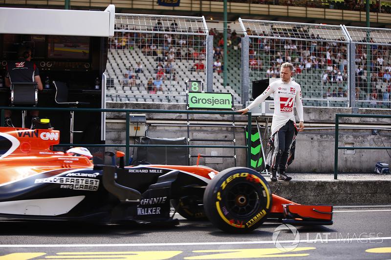 Кевін Магнуссен, Haas F1 Team, Стоффель Вандорн, McLaren MCL32