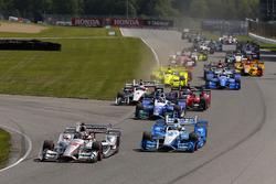 Start: Will Power, Team Penske Chevrolet, führt