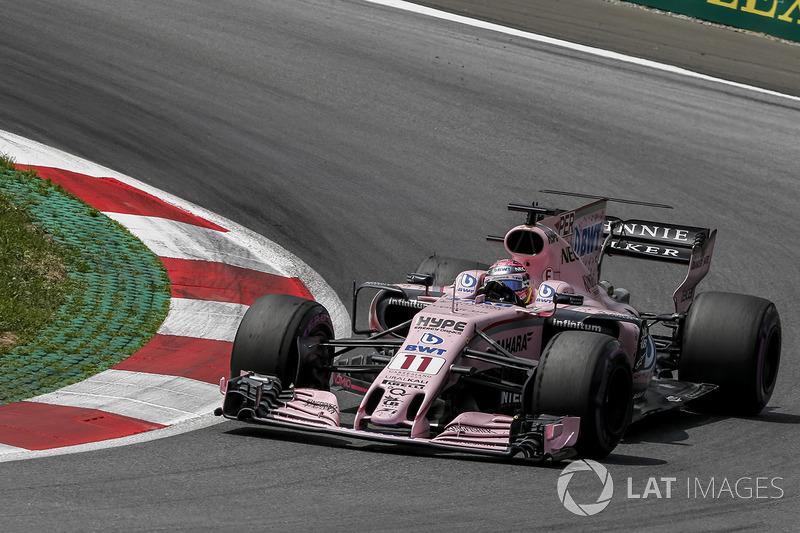 7 місце - Серхіо Перес, Force India