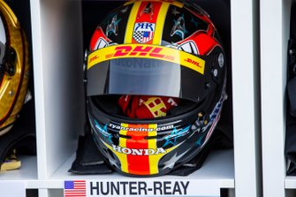 Il casco di Ryan Hunter-Reay
