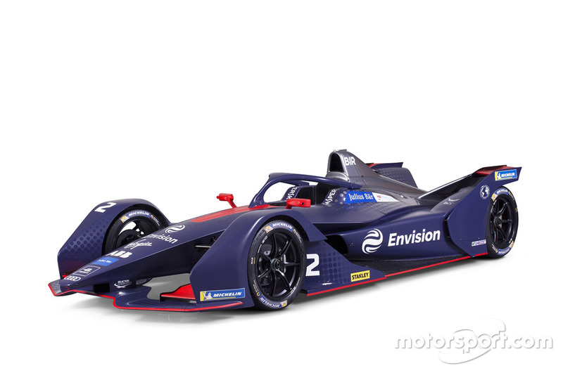 Monoposto di Formula E Gen 2 Virgin Racing